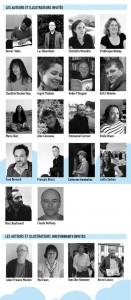 Auteurs et illustrateurs invités en 2012